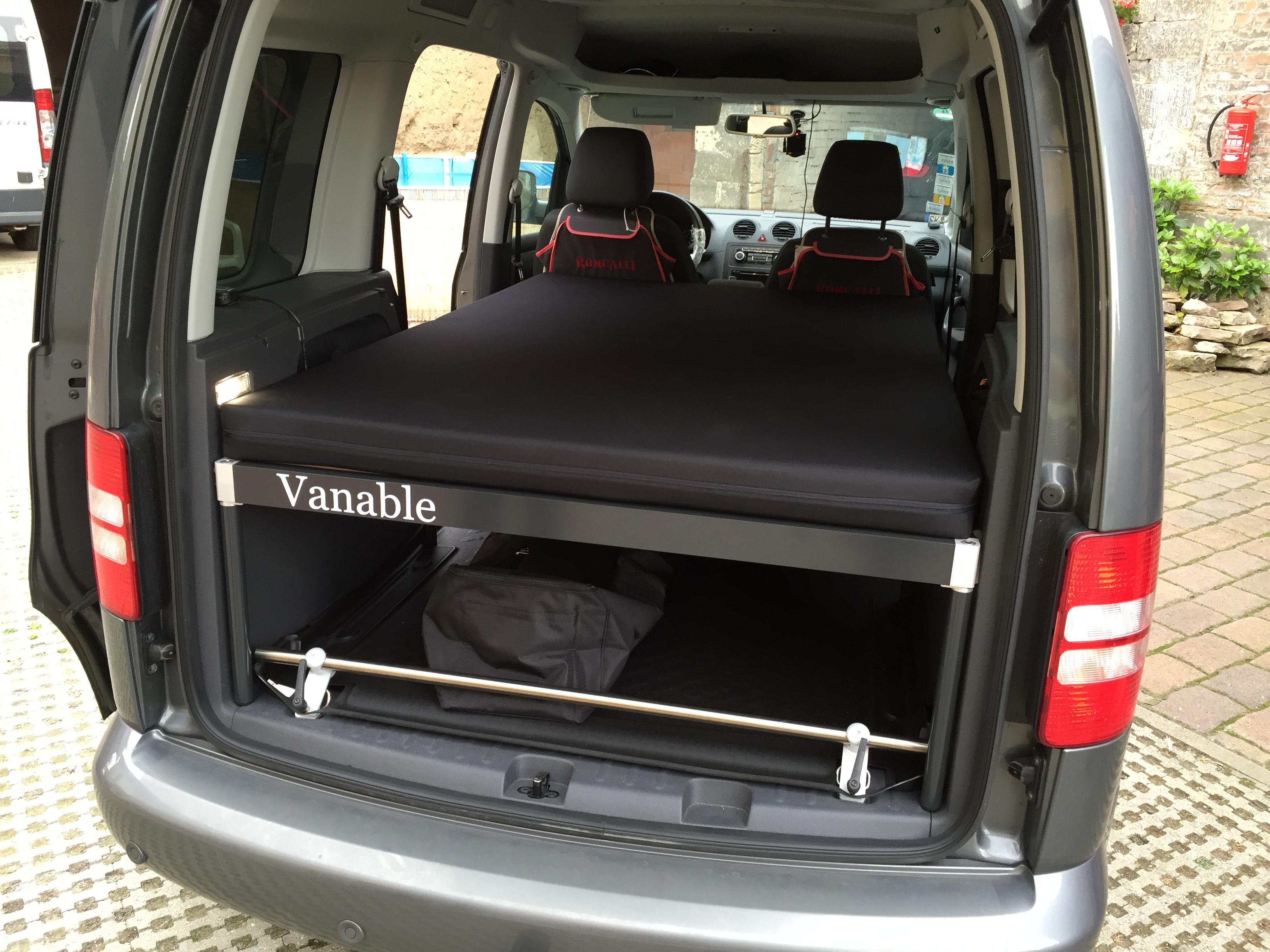 Volkswagen Caddy kurz  Vanable® – Macht jeden VAN zum Wohnmobil